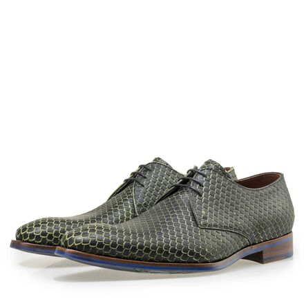 Floris van Bommel Premium leather lace shoe