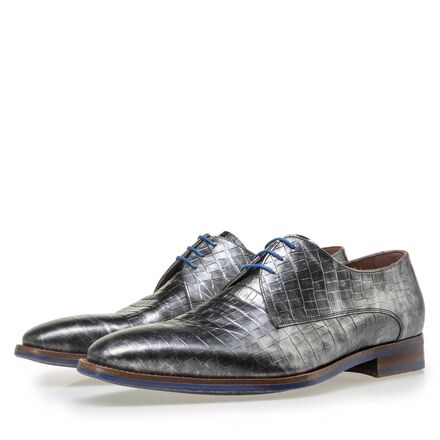 Floris van Bommel Premium men's leather lace shoes