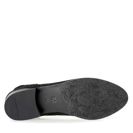 Floris van Bommel suede leather ankle boot