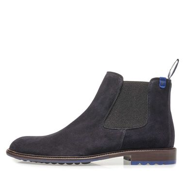 Suede leather chelsea boot