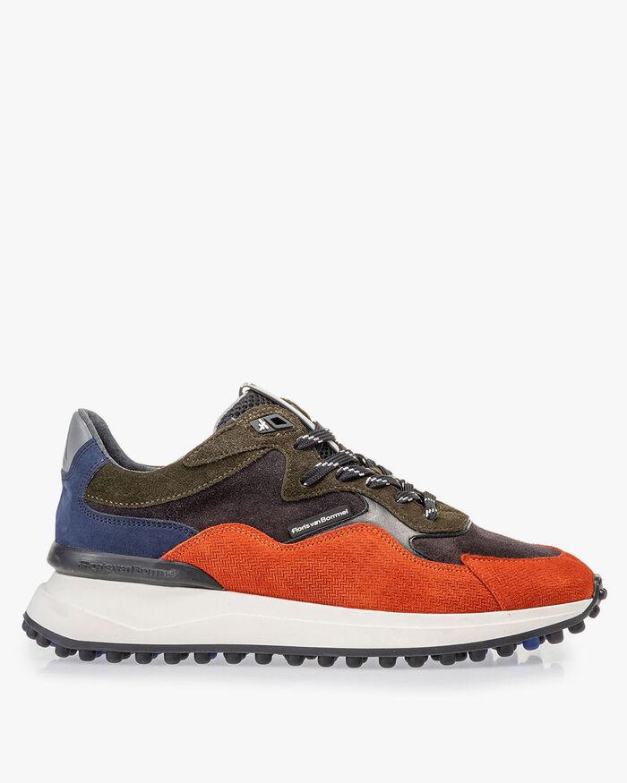 Noppi sneaker dark blue/orange