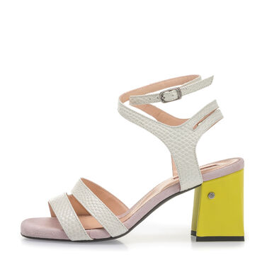 Geklede sandalette