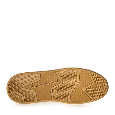 Sneaker geprint leer