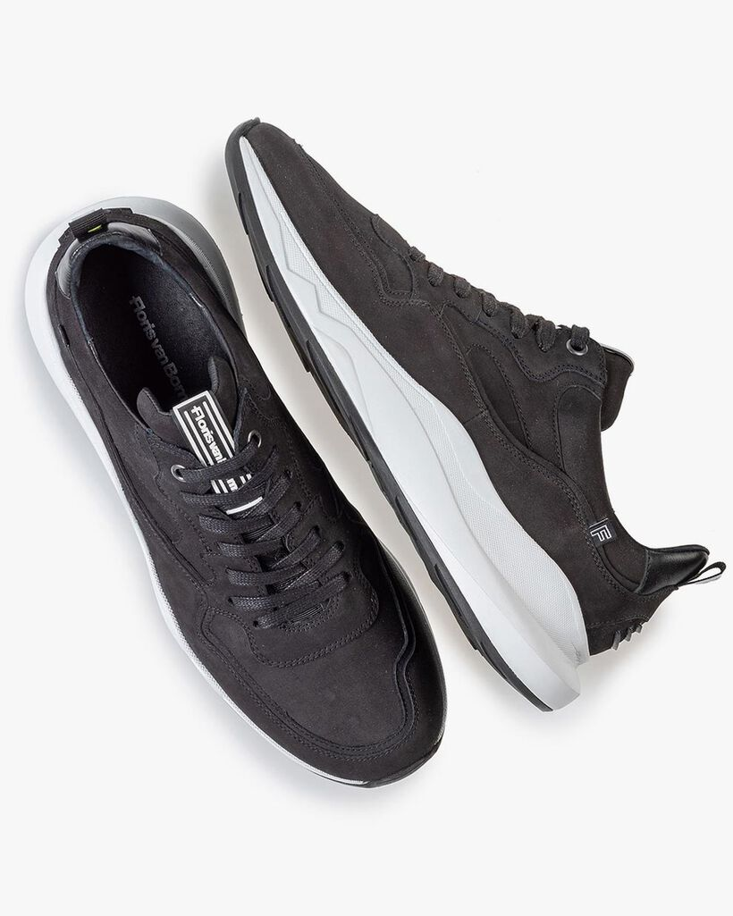 Bulki sneaker black nubuck