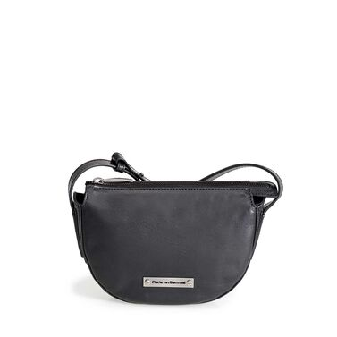 Leren cross body bag