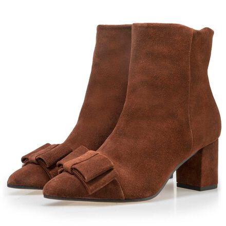 Floris van Bommel suede leather ankle boots