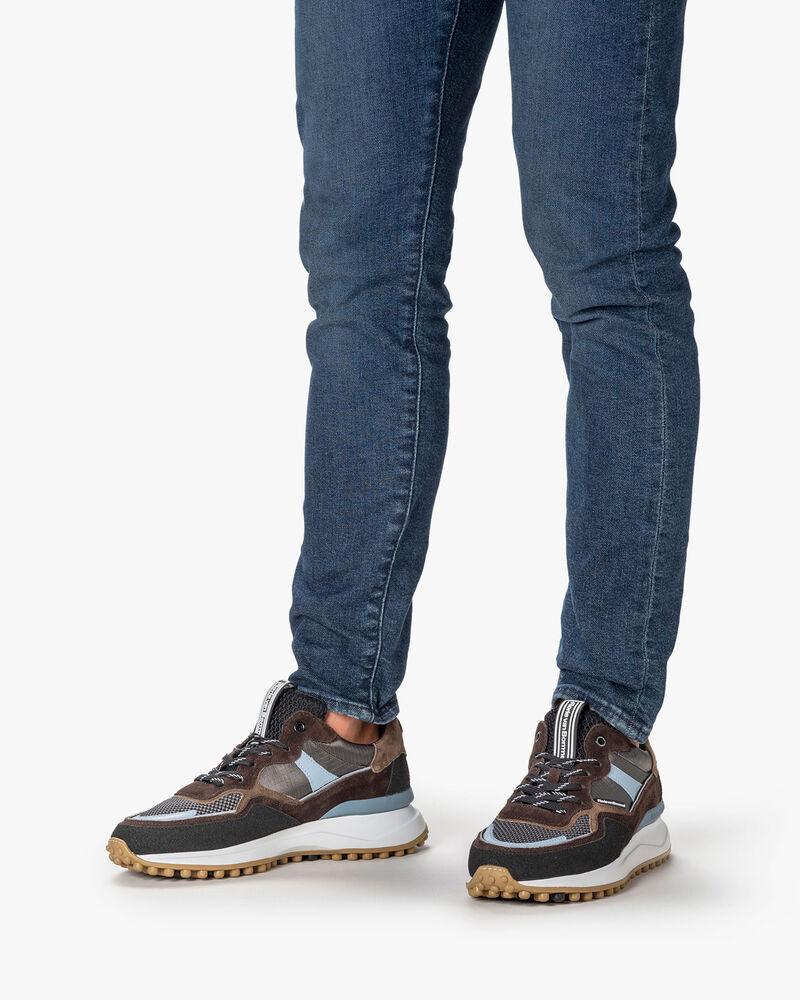 Noppi sneaker beige/black