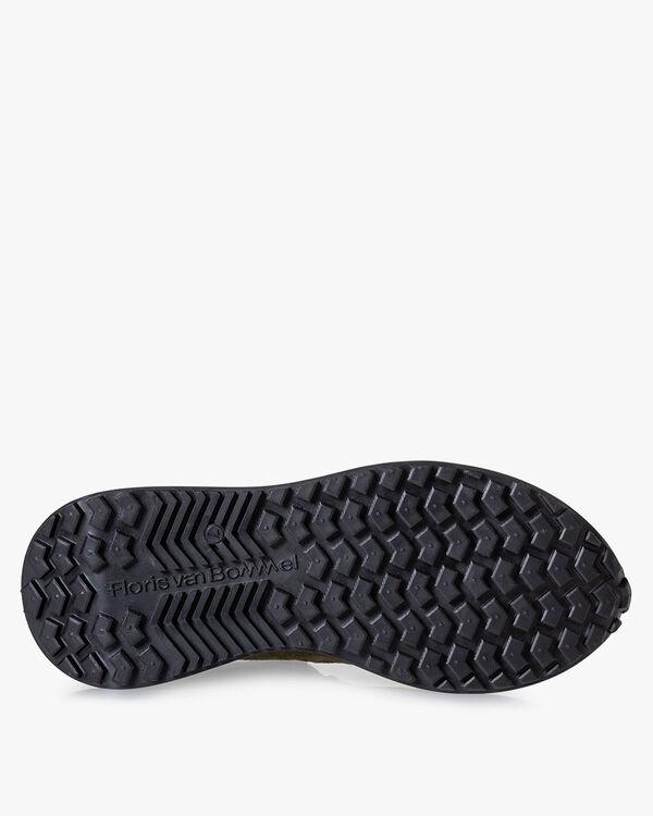 Vinti sneaker suède donkergroen