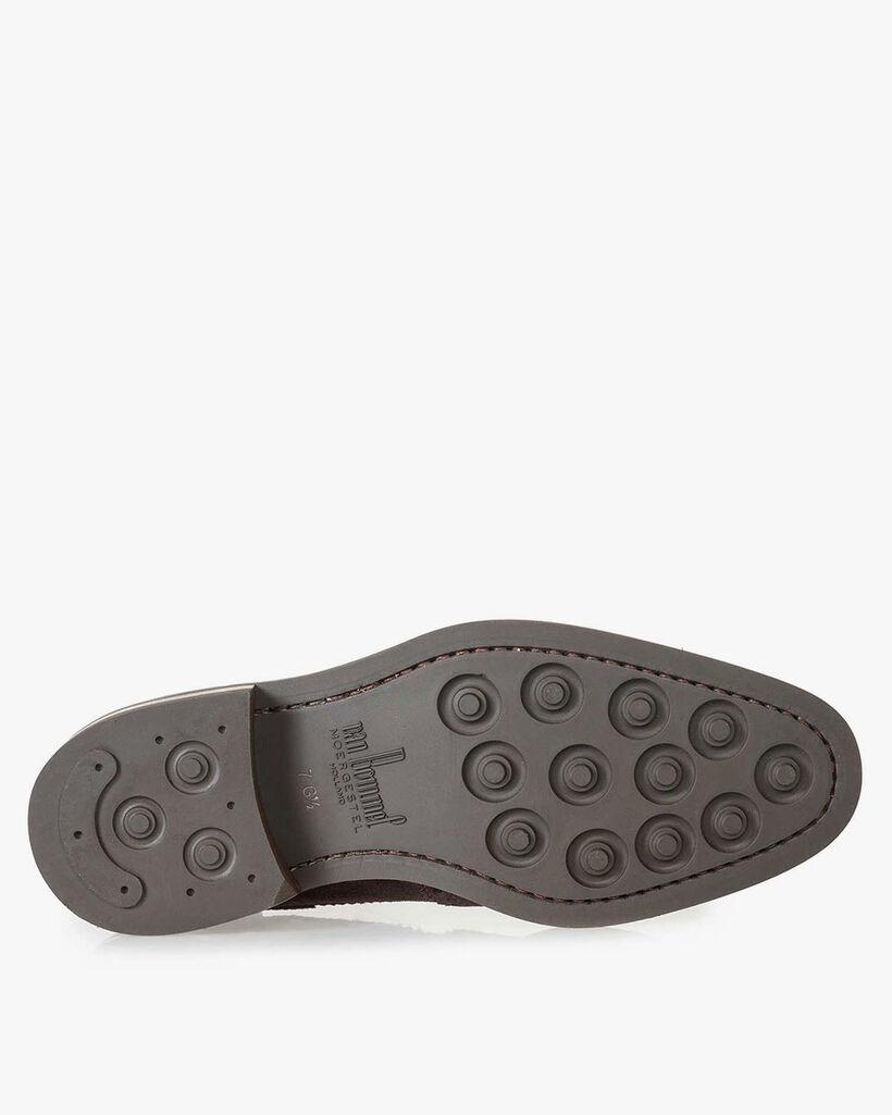 Boot suède bruin