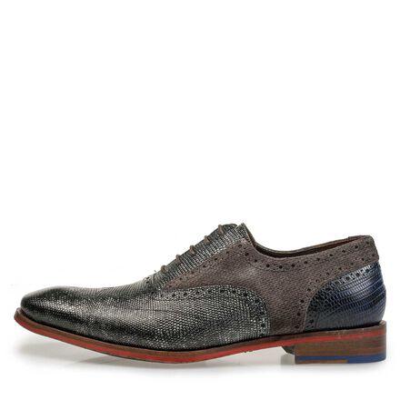 Premium calf leather lace shoe