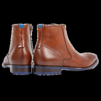 Chelsea boot cognac calf leather