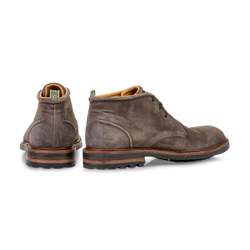 Veterboot suede taupe