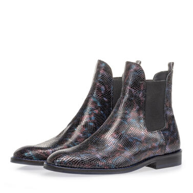 Chelsea boot crocoprint
