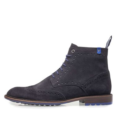 Suède brogue veterboot