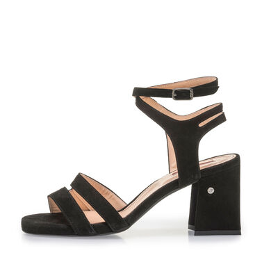 Elegant high-heeled sandal
