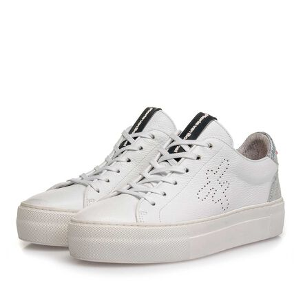 Leather women's sneaker