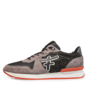 Premium Suede leather coloured sneaker