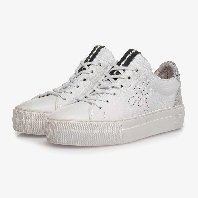 Leren dames sneaker