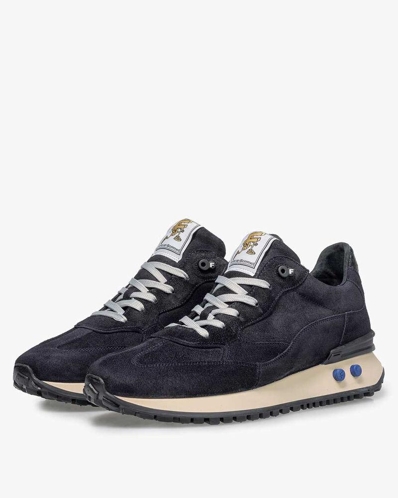 Vinti sneaker suede blue