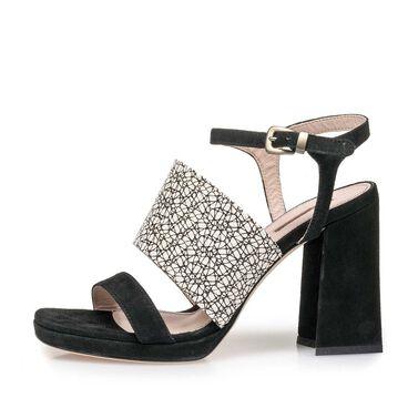 Sandaal met hak