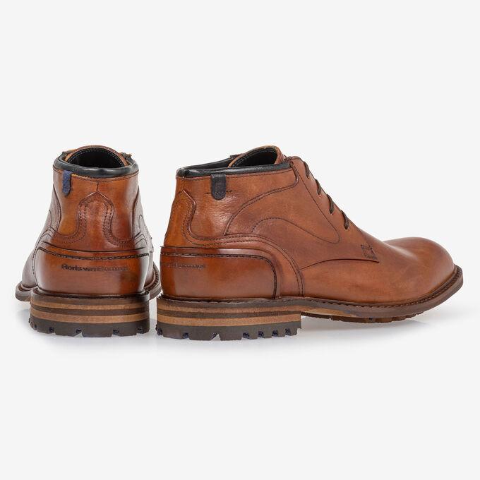 Crepi boot calf leather cognac