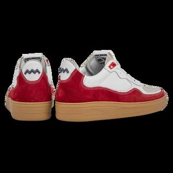 Sneaker suède rood