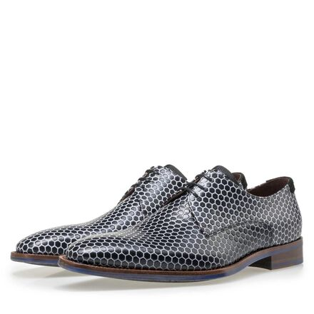 Floris van Bommel calf's leather lace shoe