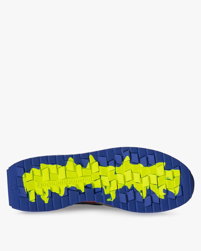 Sharki sneaker donkerbruin