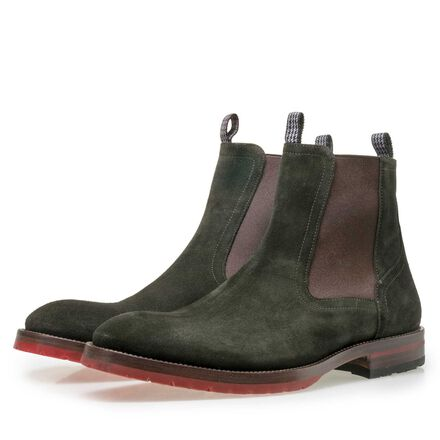 Floris van Bommel men's Chelsea boot