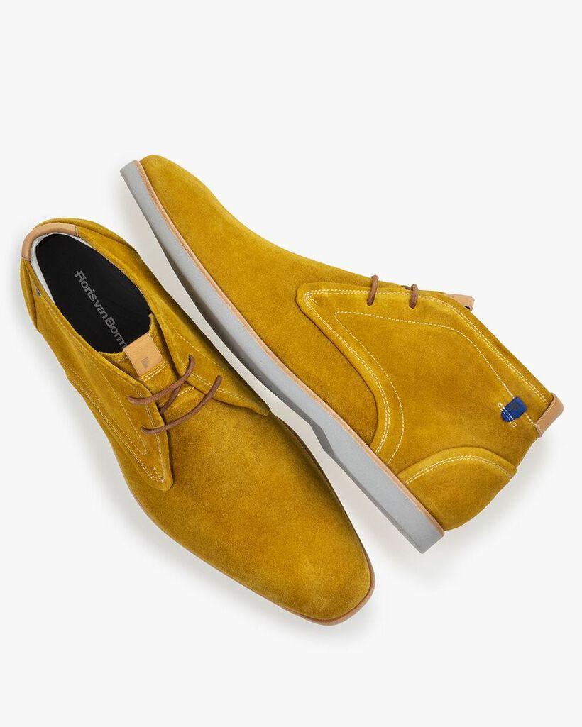 Boot suède geel