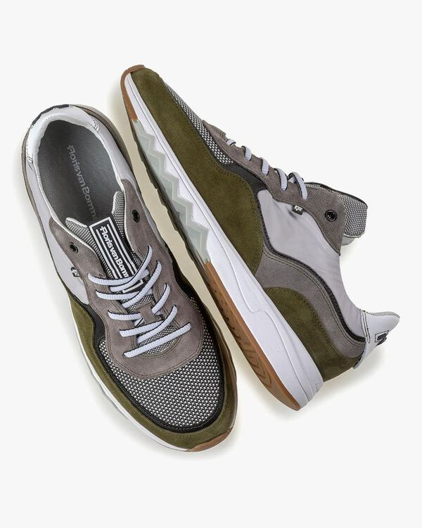 Nineti suede leather green