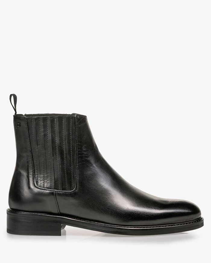 Chelsea boot calf leather black