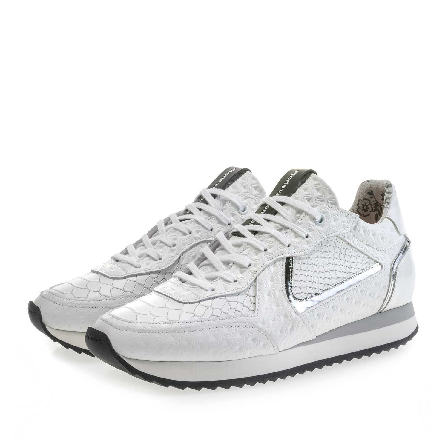 Chaussures Blanches Avec Boucle Pour Femmes YDbUALZUIe