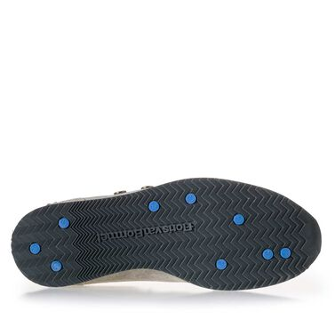 Sportieve sneaker van suède