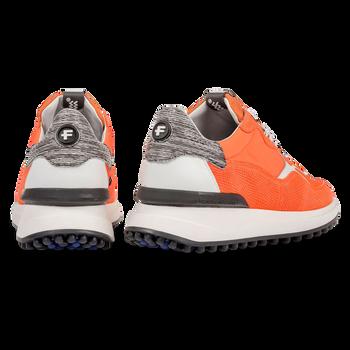 Premium oranje sneaker met print