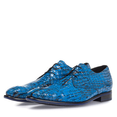 Premium leather lace shoe