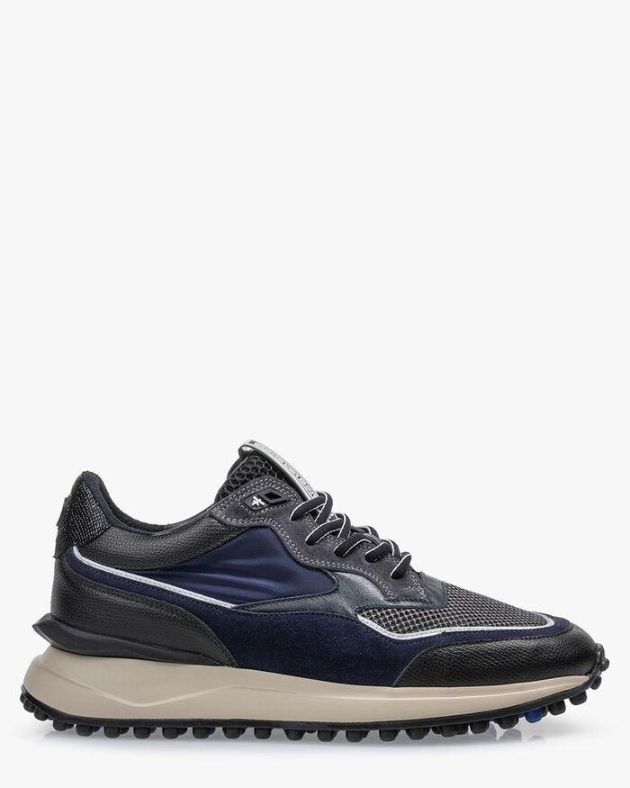 Noppi sneaker blauw