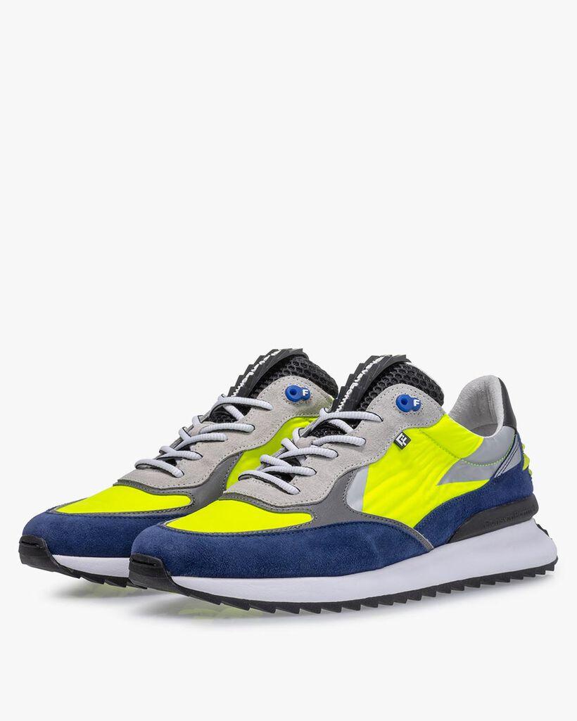 Sneaker textile yellow