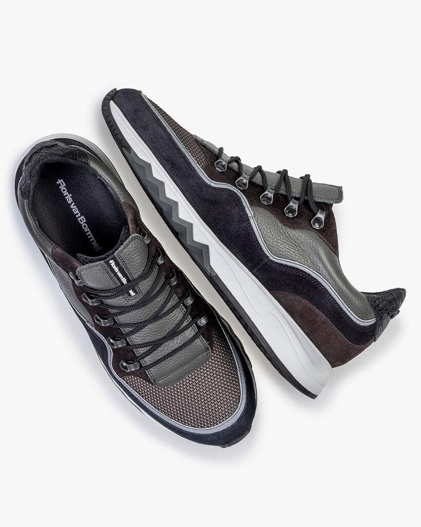 Nineti sneaker donkergrijs