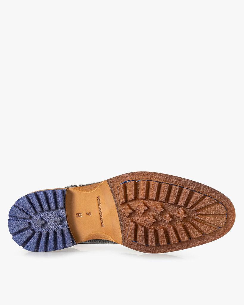 Crepi boot lizardprint grijs