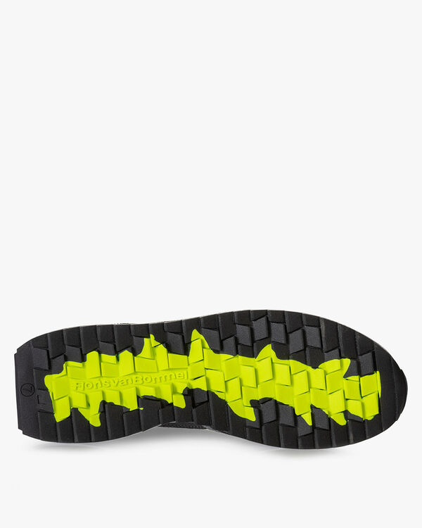 Sharki sneaker donkergrijs
