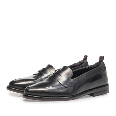 Calf leather loafer