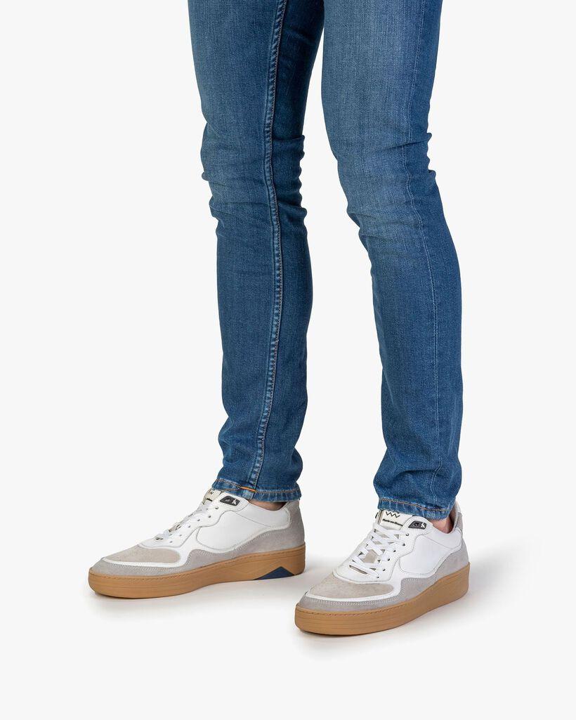 Sneaker suède wit