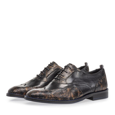 Veterschoen crocoprint
