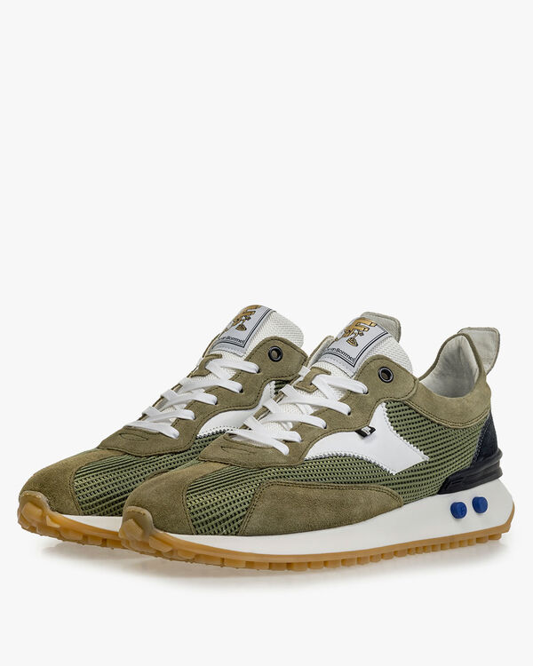 Sneaker textile green