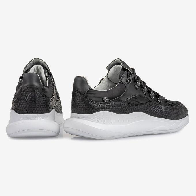 Bulki sneaker black leather