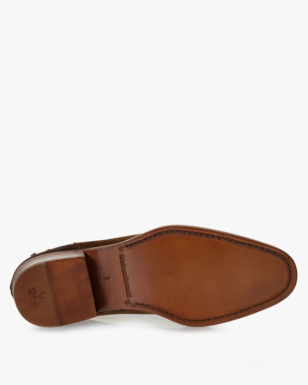 Chelsea boot suede cognac