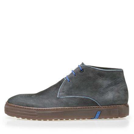 Floris van Bommel nubuck leather lace boot