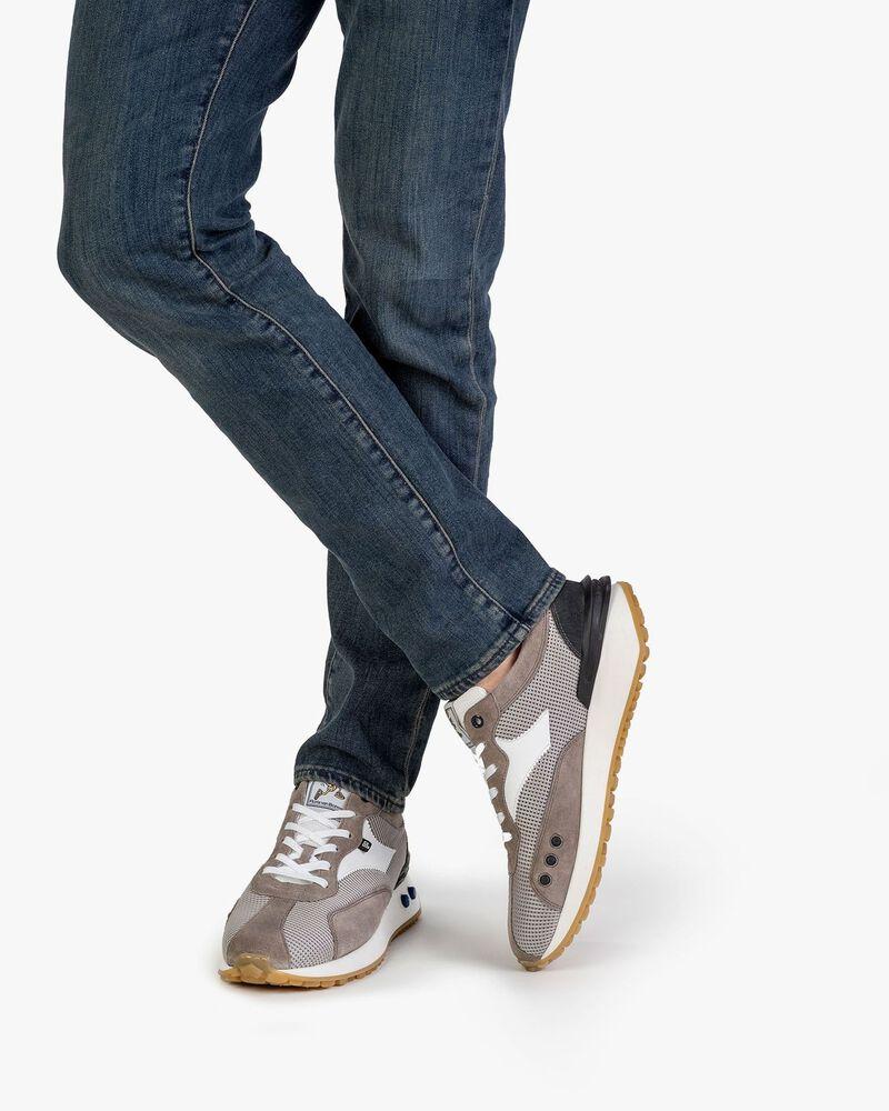 Sneaker textile grey