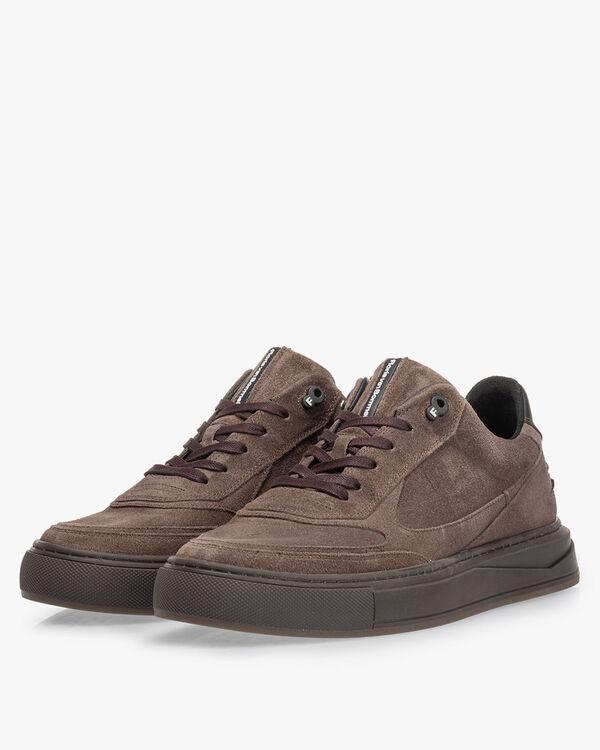 Sneaker suède zand